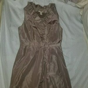 J Crew dress Knee length silk brown bridesmaid